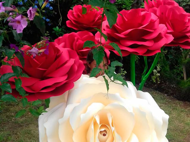 flores de papel para adornar fiestas en iztapalapa